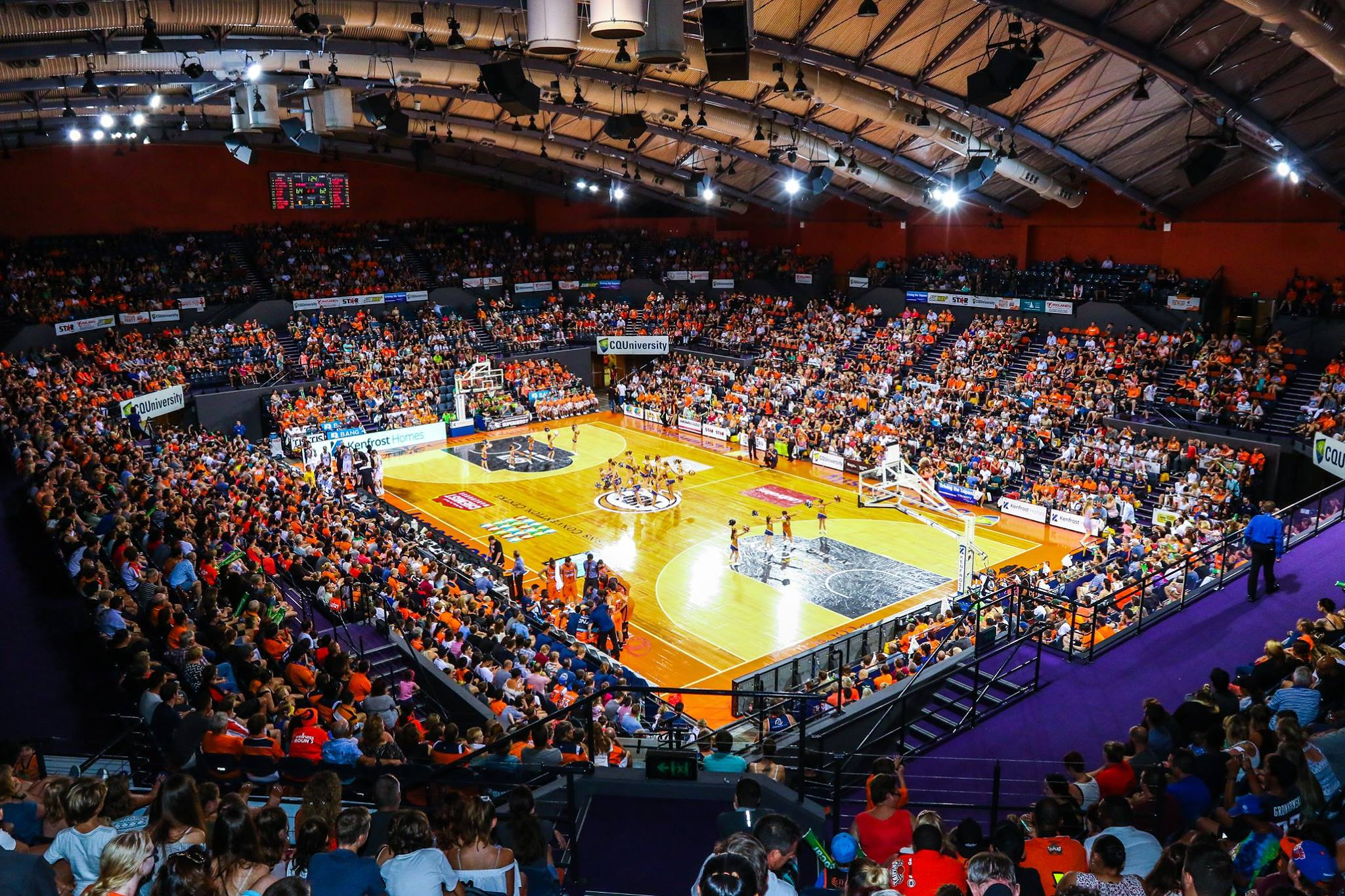 Taipans basketball game